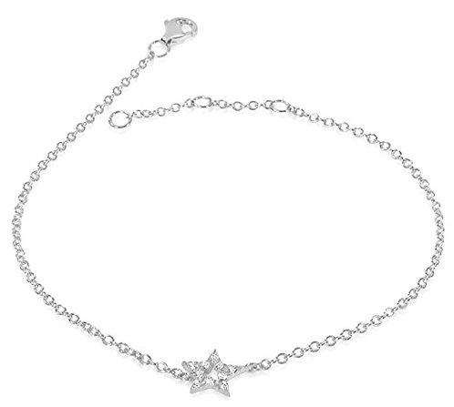 Bracciale Stella in Oro e Diamanti Naturali