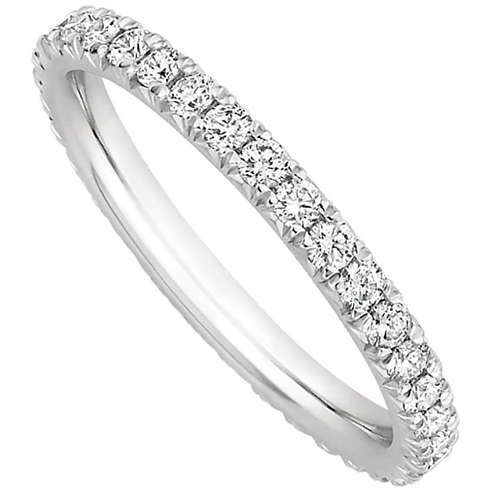 Anello Eternity Oro e Diamanti Lab-Grown