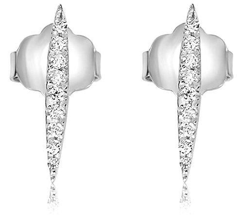 Orecchini Spada in Oro e Diamanti Naturali  (coppia/singolo)