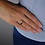 Thumbnail: Anello Regolabile con Lettera Oro e Diamanti Naturali