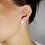 Thumbnail: Orecchini  Personalizzabiliin argento Sterling 925 massiccio e Rubino Naturale