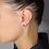 Thumbnail: Orecchini  Stella Oro Perla e Diamanti Naturali