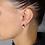 Thumbnail: Orecchini  Quadrifoglio Oro Perla e Diamanti Naturali