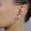 Thumbnail: Orecchini Infinito in Oro e Diamanti Naturali  (coppia/singolo)