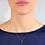 Thumbnail: Collana Oro con pendente in Acquamarina Naturale e Diamante Naturale