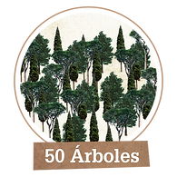 Plantar 50 árboles
