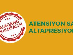 Alagang PhilHealth - Bigyang atensiyon ang altapresyon