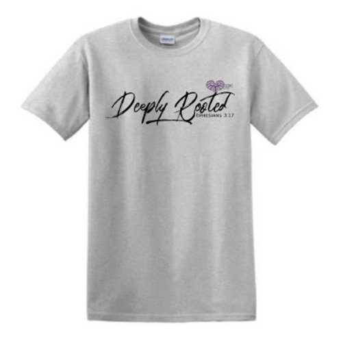 Deeply Rooted Gray Shirt