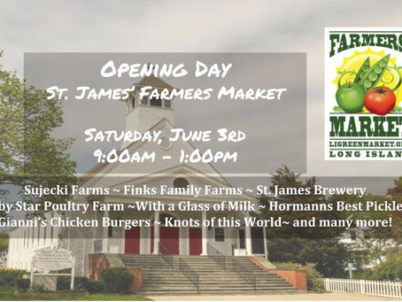 St. James Farmers Market Opens Saturday