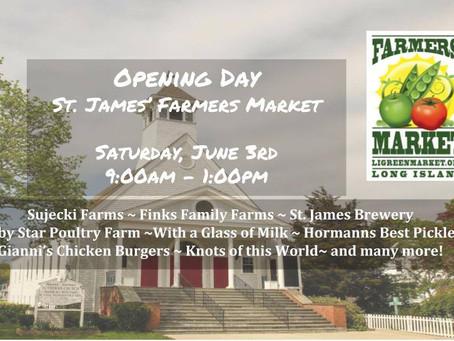 St. James Farmers Market Opens Saturday