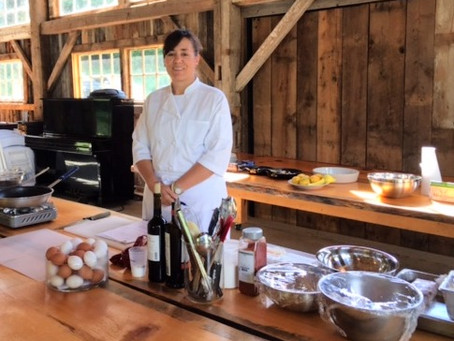 Executive Chef Kelly McNabb of Vermont visits LI Greenmarket on Saturday