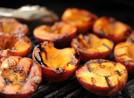 Weekday Recipes: Grilled Peaches with Cinnamon Honey Butter