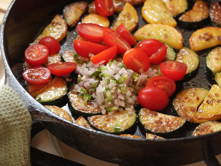 Weekend Recipe: Tomato & Zucchini Sauté