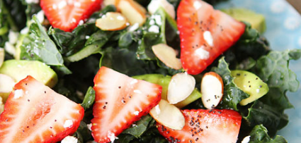 Recipe: Strawberry Salad with Maple Mustard Vinaigrette
