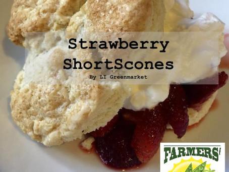 Strawberry ShortScones!