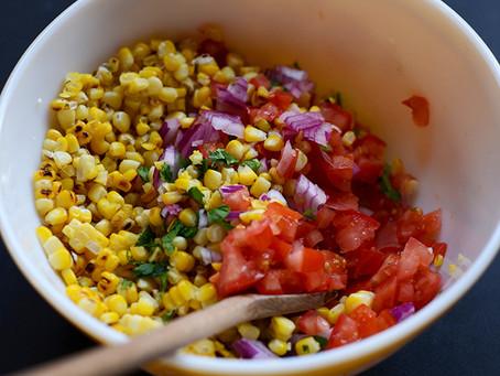 Grilled Corn Salsa, Recipe