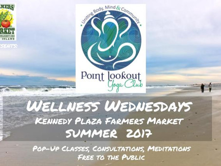 Point Lookout Yoga Club sponsors Wellness Wednesdays in Long Beach
