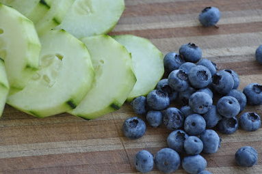 Cool Blue Cleansing Salad