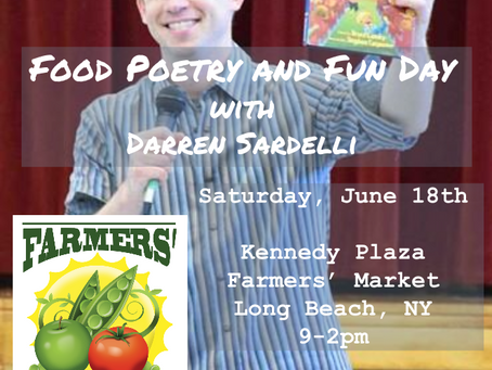 Kids Food Poetry and Fun at the Market