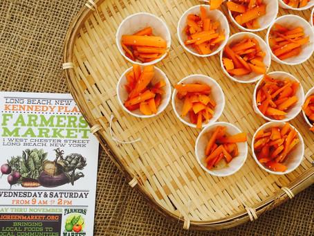 Weekday Recipe: Sesame Carrot Salad