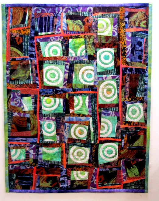 Fear of Fire, a quilt with meaning