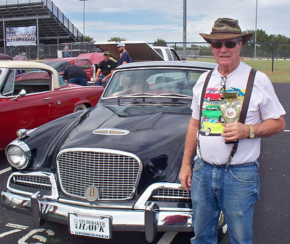 Mel McGee '58 Hawk 2017 Perkins Car Show