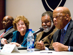 Constance Curry with John Lewis
