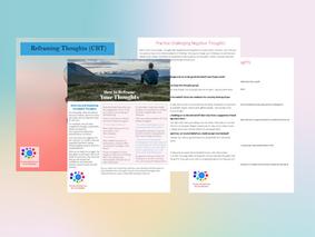 15 Evidence-Based CBT Worksheets