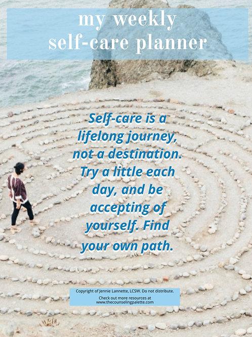 Weekly Self-Care Planner