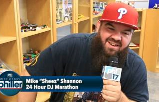"WVLT's Mike Sheez on ""Weekend Philler"""