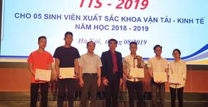 Scholarship Ceremony at the Unitversity of Transport and Communications