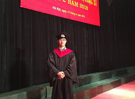 Team Leader receives Masters in Construction Management!