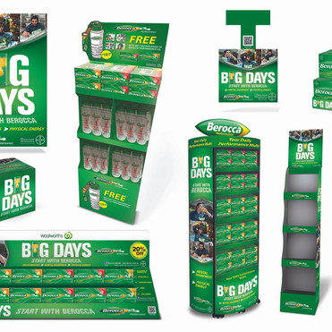 BEROCCA FULL PATH TO PURCHASE POS CAMPAIGN ACTIVATION SUITE