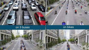 How different modes of transport impact congestions