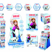 BAND-AID FROZEN EDITION FULL PATH TO PURCHASE POS CAMPAIGN ACTIVATION SUITE