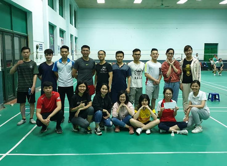 Vietnam Office Badminton Match!