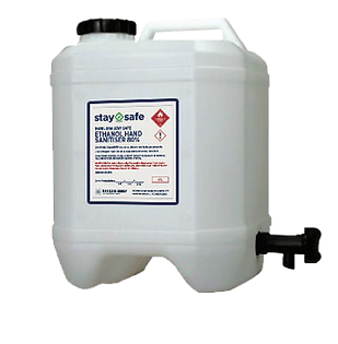 Stay Safe Sanitiser Bulk Refill 20L Drum