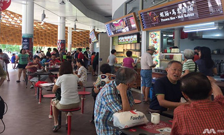 Pasir Ris Hawker Centre is open!