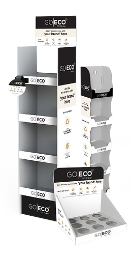 GoEco Sustainable Eco Friendly Green POS Displays and Print