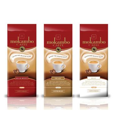 MOKAMBO COFFEE PACKAGING DESIGN