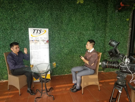 TTS Vietnam interviewed by VTC10!