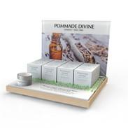 POMMADE DIVINE SHELF DISPLAY WITH GLORIFIER
