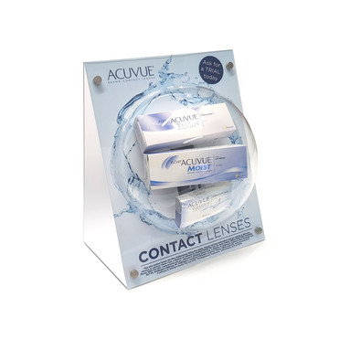 ACUVUE CONTACT LENSES COUNTER GLORIFIER