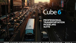 Cube 6 training course at Institute of Planning and Transportation Engineering
