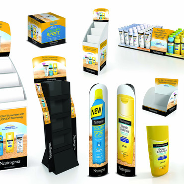 NEUTROGENA FULL PATH TO PURCHASE POS CAMPAIGN ACTIVATION SUITE