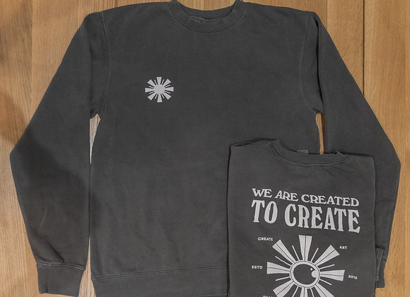 Created to Create - Laux Crewneck Sweatshirt (Comfort Colors)