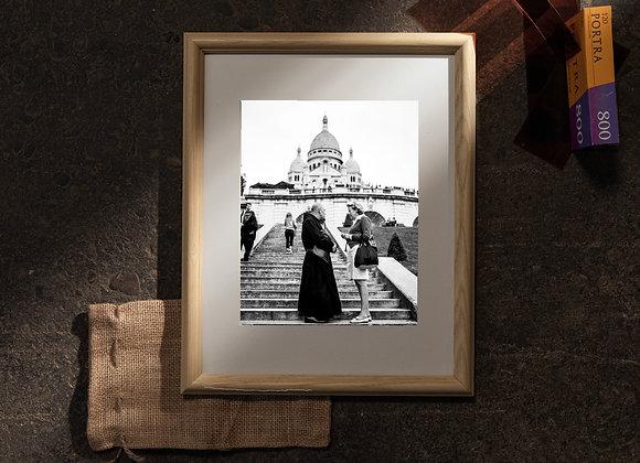 Sacré-Cœur (11x14 Frame / 8x10 Print)