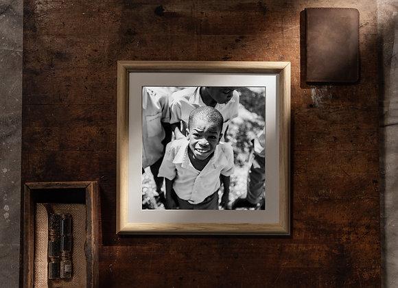 Lekòl (12x12 Frame/10x10 Print)