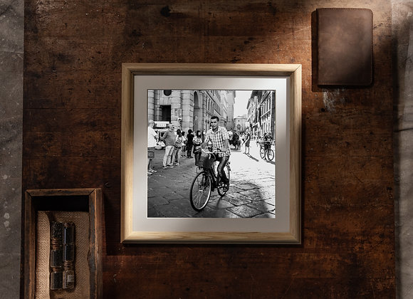 Piazza Della Repubblica (12x12 Frame/10x10 Print)