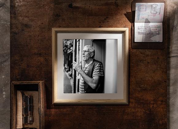 Caitheamh Tobac (12x12 Frame/10x10 Print)